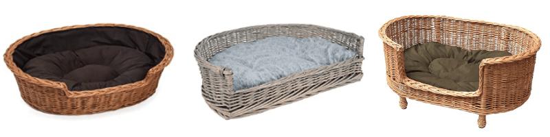 Top 3 camas de mimbre para perros, las mejores camas para perros clasicas, camas para perros de mimbre online, tienda online de cama para perros de mimbre