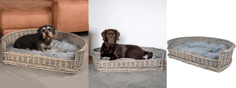 cama para perro de mimbre, cama de perro mimbre, camas de mimbre para perros en chile